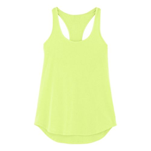 Womens Under Armour UA Studio Cross-Town Tanks Technical Tops - X-Ray M