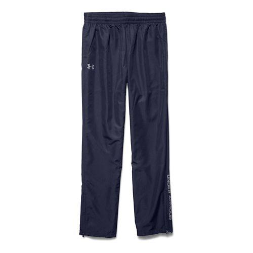 Mens Under Armour Vital Woven Full Length Pants - Midnight Navy 3XL