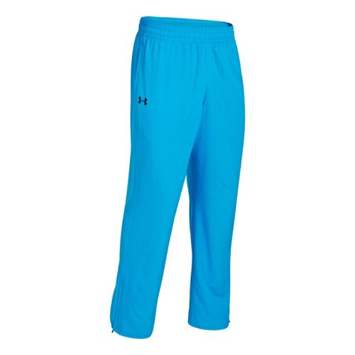 Mens Under Armour Vital Woven Full Length Pants - Electric Blue/Black XXL
