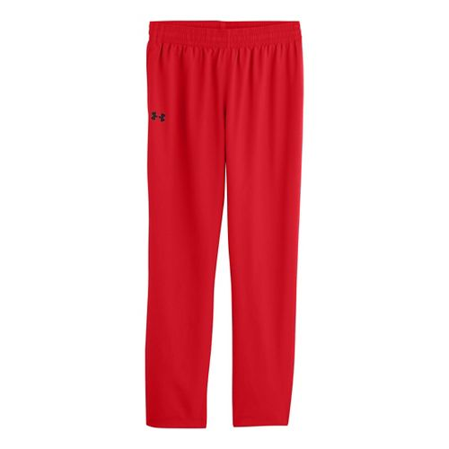 Mens Under Armour Vital Woven Full Length Pants - Risk Red/Black XL