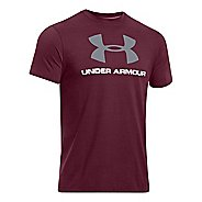 Mens Under Armour Sportstyle Logo T Short Sleeve Non-Technical Tops