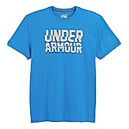 Mens Under Armour Cut Up T Short Sleeve Non-Technical Tops