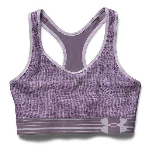 Womens Under Armour UA Still Gotta Have It Printed Sports Bras - Cloud Grey M ...