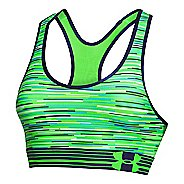 Womens Under Armour UA Mid Printed Sports Bras