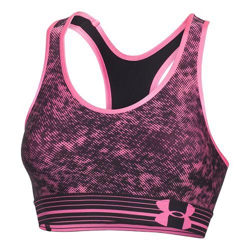 Womens Under Armour UA Still Gotta Have It Printed Sports Bras - Pink Punk XS ...