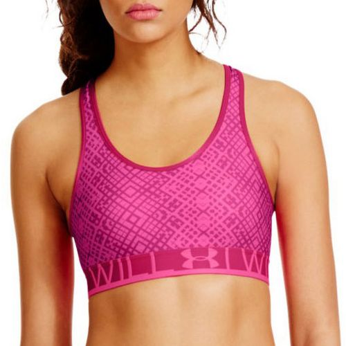 Womens Under Armour UA Still Gotta Have It Printed Sports Bras - Chaos M