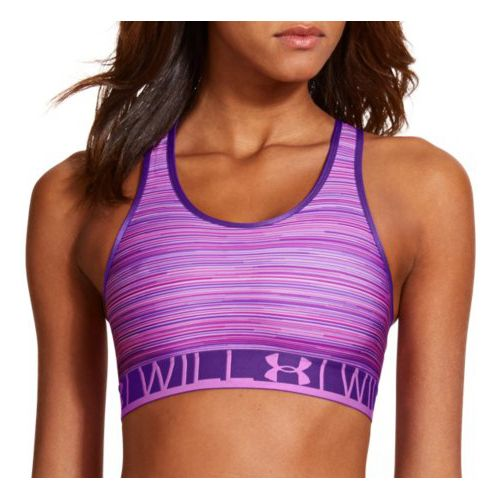 Womens Under Armour UA Still Gotta Have It Printed Sports Bras - Exotic Bloom XL ...