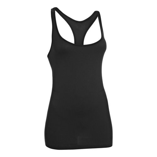 Womens Under Armour Seamless Tanks Technical Tops - Black XS