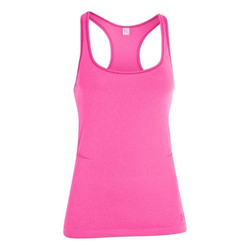 Womens Under Armour Seamless Tanks Technical Tops - Chaos L