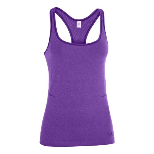 Womens Under Armour Seamless Tanks Technical Tops - Pride L