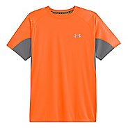 Mens Under Armour Coldblack Run Short Sleeve Technical Tops