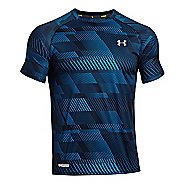 Mens Under Armour Flyweight Run T Short Sleeve Technical Tops