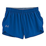 "Mens Under Armour Heatgear Flyweight Run 3"" Short Splits Shorts"
