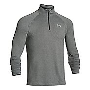 Mens Under Armour Heatgear Flyweight Run Long Sleeve 1/2 Zip Technical Tops