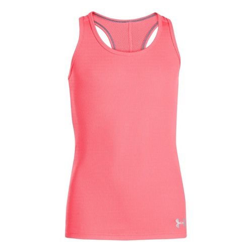 Kids Under Armour Girls UA Victory Tanks Technical Tops - Brilliance XS