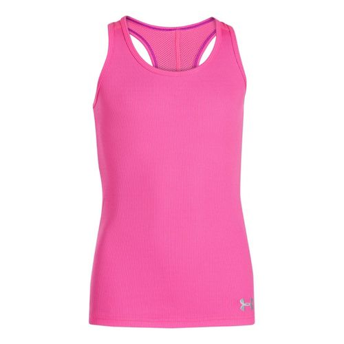 Kids Under Armour Girls UA Victory Tanks Technical Tops - Chaos L