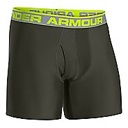 "Mens Under Armour Original 6"" Seasonal Colors Boxer Brief Underwear Bottoms"