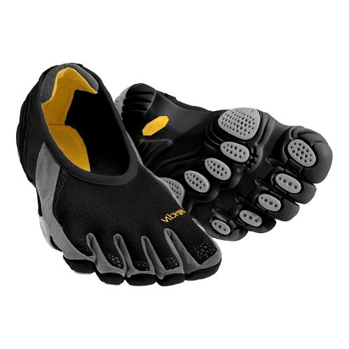 Womens Vibram FiveFingers Jaya Running Shoe - Black/Silver 36