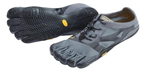 Mens Vibram FiveFingers KSO EVO Running Shoe - Grey/Black 43