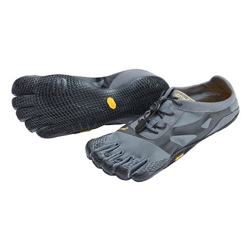 Mens Vibram FiveFingers KSO EVO Running Shoe - Grey/Black 43