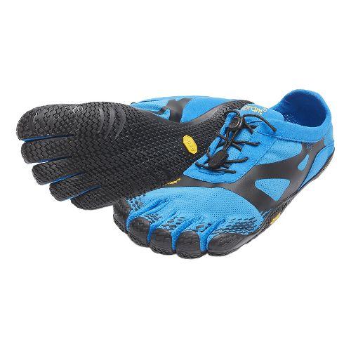 Mens Vibram FiveFingers KSO EVO Running Shoe - Blue/Black 42