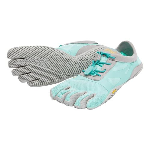 Womens Vibram FiveFingers KSO EVO Running Shoe - Mint/Grey 38