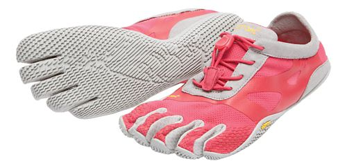 Womens Vibram FiveFingers KSO EVO Running Shoe - Pink/Grey 38