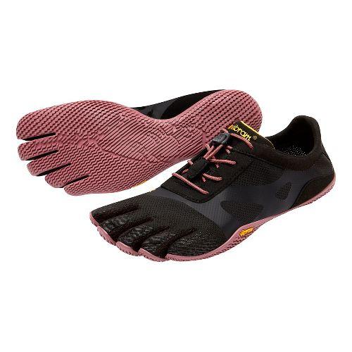 Womens Vibram FiveFingers KSO EVO Running Shoe - Black/Rose 39