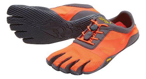 Womens Vibram FiveFingers KSO EVO Running Shoe - Fiery/Coral/Grey 36