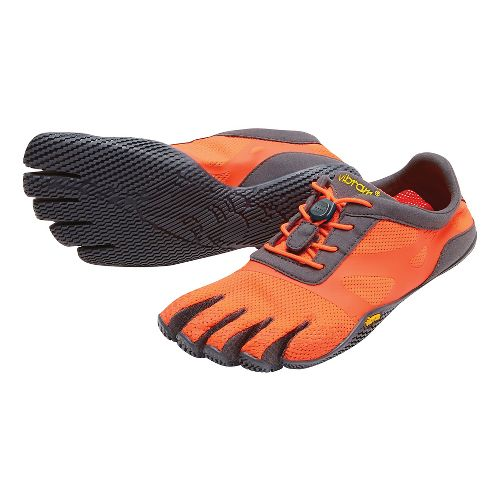 Womens Vibram FiveFingers KSO EVO Running Shoe - Fiery/Coral/Grey 36