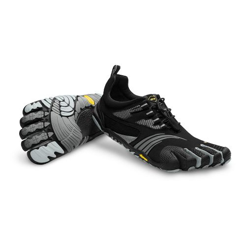 Mens Vibram FiveFingers KMD Sport LS Running Shoe - Black/Silver 45