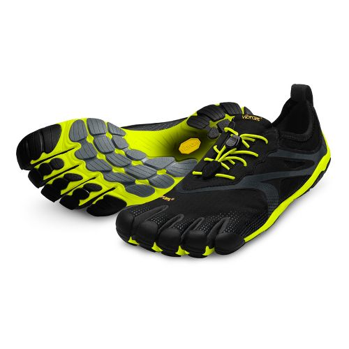 Mens Vibram FiveFingers Bikila EVO Running Shoe - Black/Yellow 44