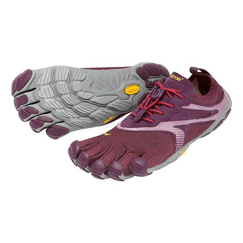Womens Vibram FiveFingers Bikila EVO Running Shoe - Purple/Grey 40