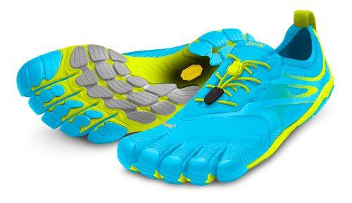 Womens Vibram FiveFingers Bikila EVO Running Shoe - Blue/Green 36