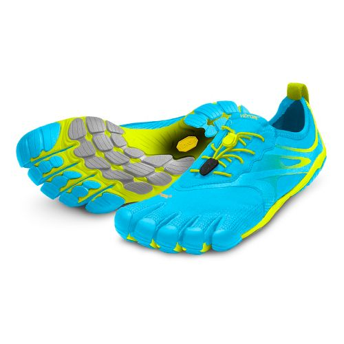 Womens Vibram FiveFingers Bikila EVO Running Shoe - Blue/Green 39