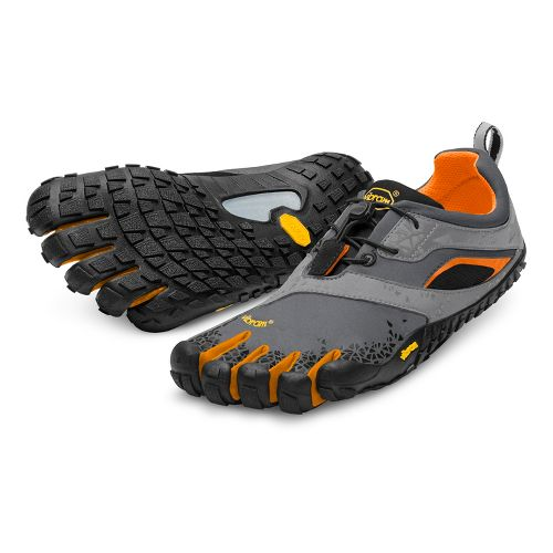 Mens Vibram FiveFingers Spyridon MR Running Shoe - Grey/Orange 44