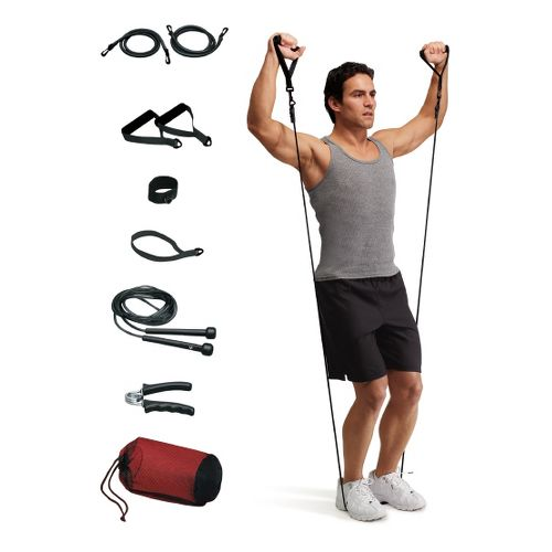 Valeo Portable Fitness Kit Fitness Equipment - Black