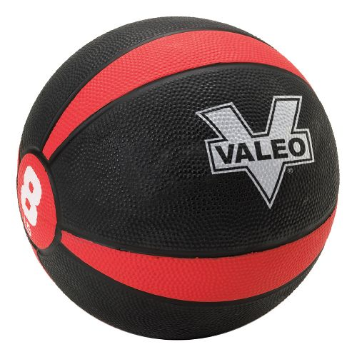 Valeo Medicine Ball Fitness Equipment - Red/Black