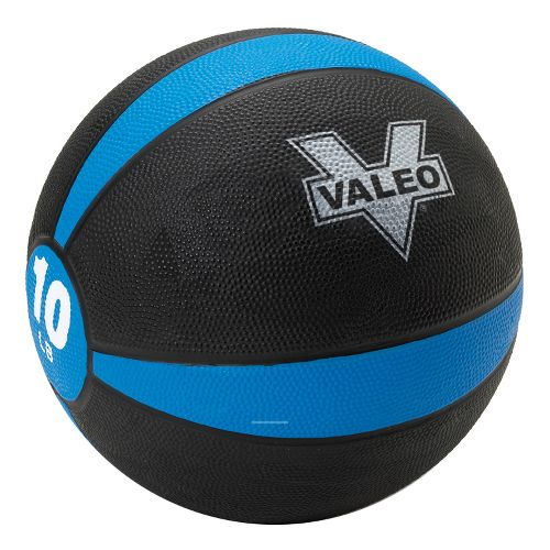 Valeo Medicine Ball Fitness Equipment - Blue/Black