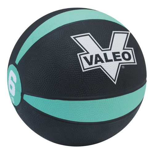 Valeo Medicine Ball Fitness Equipment - Green/Black