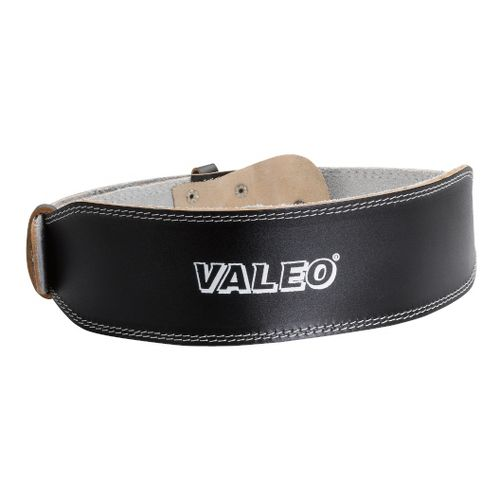 Valeo Leather Lifting Belt Fitness Equipment - Black L