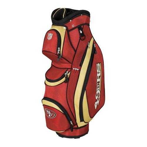 Wilson Golf NFL Golf Cart Bag Fitness Equipment - Forty Niners
