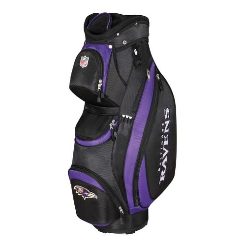 Wilson Golf NFL Golf Cart Bag Fitness Equipment - Ravens