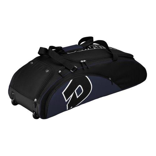 Wilson Demarini Vendetta Wheel Baseball Bag - Navy