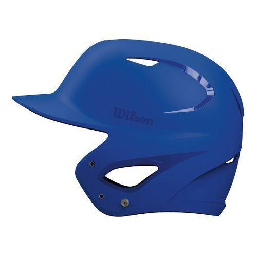 Wilson SuperFit Batting Helmet Headwear - Royal Blue