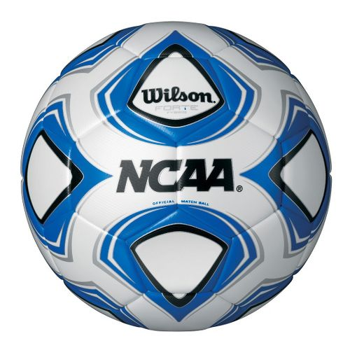 Wilson Forte Fybrid Soccer Ball Fitness Equipment - White/Blue 5