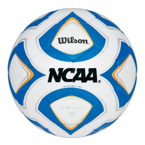 Wilson Stivale Match Soccer Ball Fitness Equipment - White/Blue 5