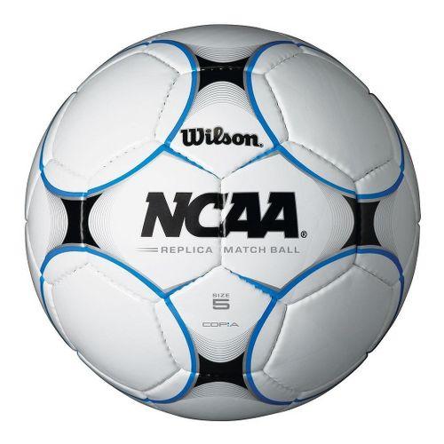 Wilson Copia Due Soccer Ball Fitness Equipment - White/Blue 5