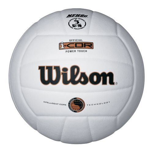 Wilson i-Cor Pwr Touch Volleyball Fitness Equipment - Red/White