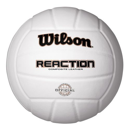 Wilson Reaction Indoor Volleyball Fitness Equipment - White